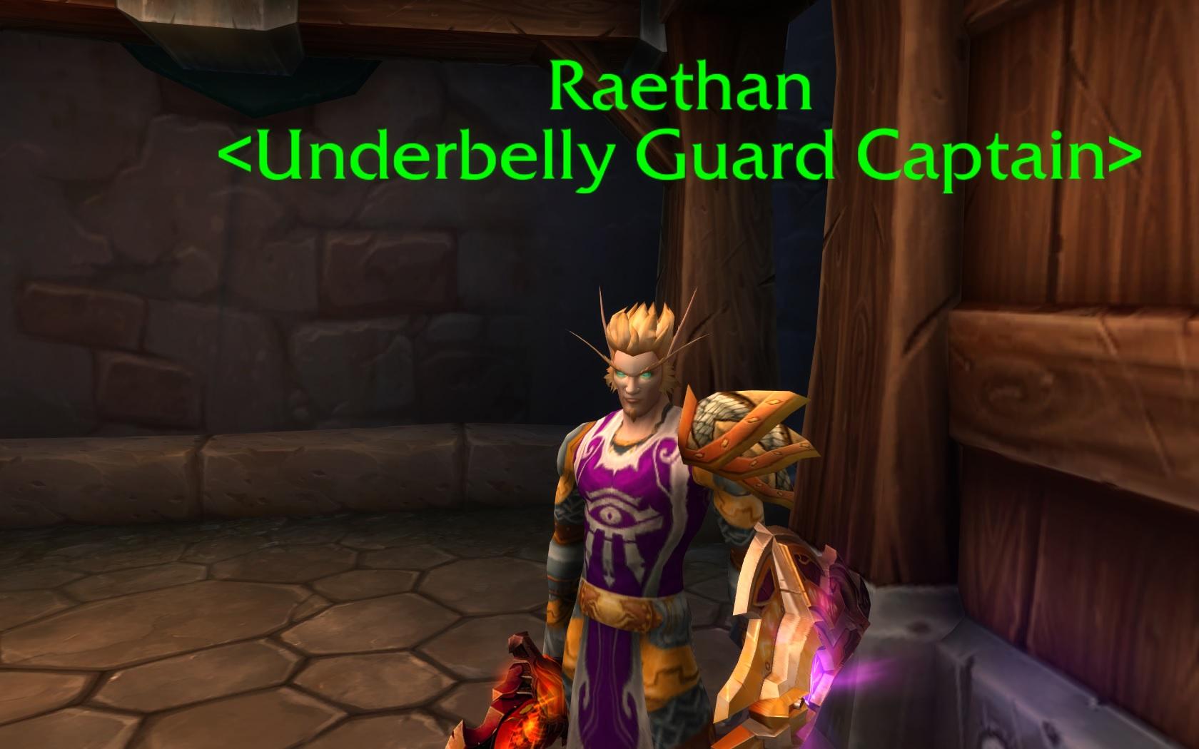 WoW Legion Underbelly Dalaran Guard