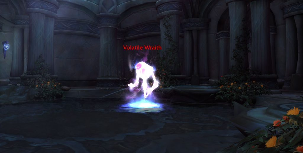 WoW Legion Withered Wraith