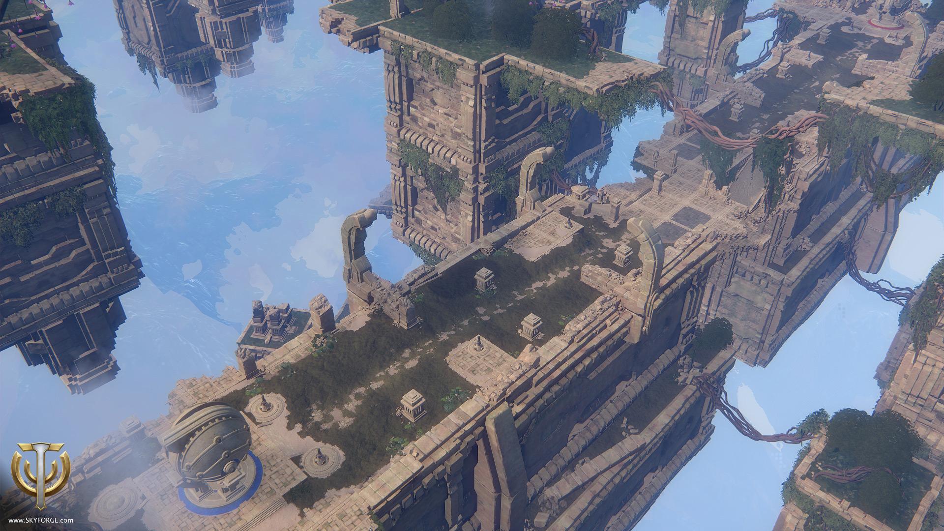 Skyforge-Golemschlacht