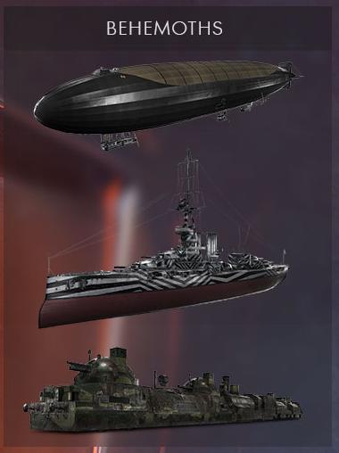Battlefield 1 Behemoth Typen