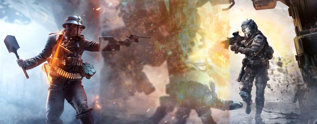Digitale Verkaufszahlen: Battlefield 1 führt auf Konsolen, Titanfall 2 schlechter als Original