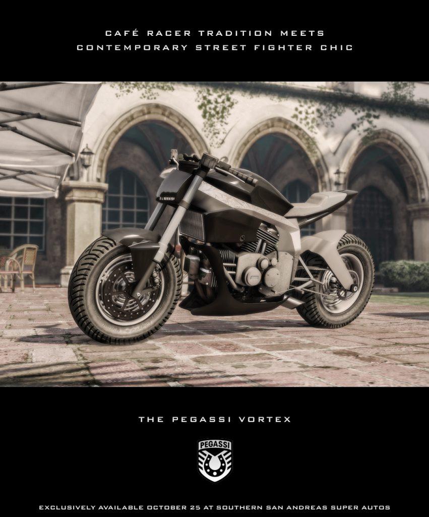 GTA 5 Online Pegassi Vortex Bike Motorrad
