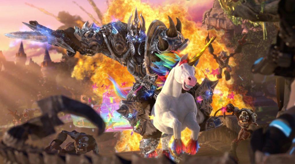 Hots Arthas Unicorn