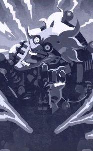 Overwatch Halloween Junkrat Frankenstein