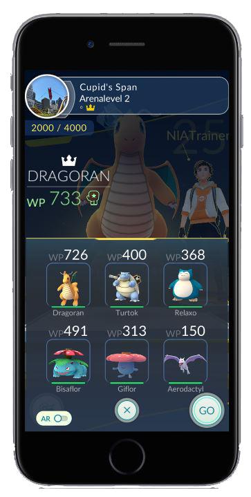 Pokémon Go Neues Feature Macht Trainieren In Der Arena Bald Einfacher