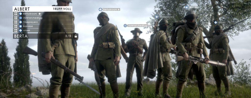 Battlefield 1: Schlechte Squad-Leader? Kickt sie!