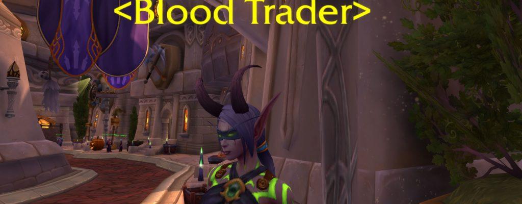 """WoW: Legion – der """"Blood Vendor"""" in Patch 7.1 – Blut von Sargeras"""
