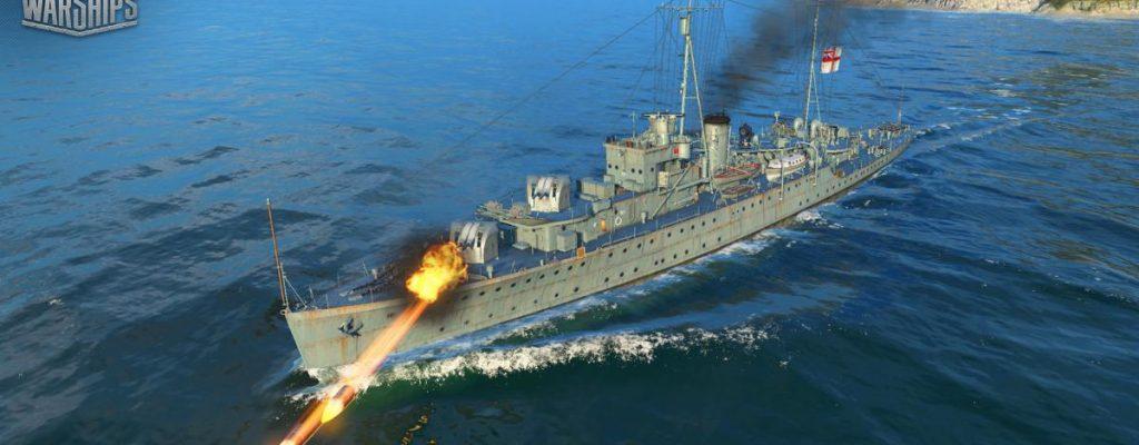 World of Warships: Britische Kreuzer sind da, aber ohne HE-Munition!