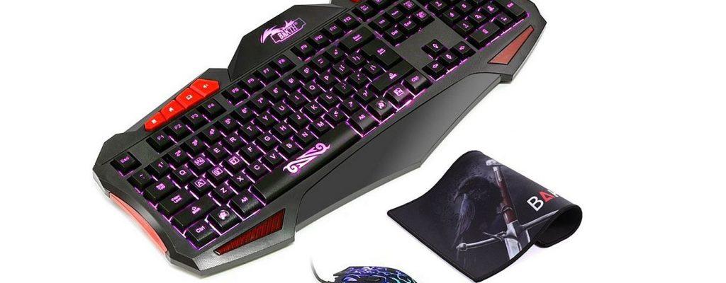 Amazon Blitzangebote: Gaming-Bundle mit Maus, Tastatur und Pad für nur 29,23€