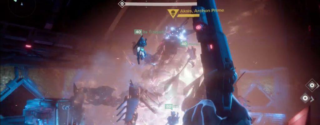 Destiny: Aksis totgehämmert und totgeprügelt – So gehen Titanen ohne Waffen vor