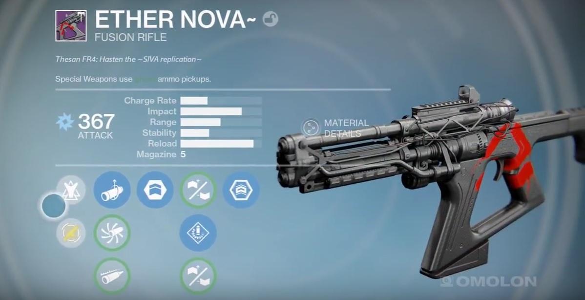 Destiny Raid Gear Waffen Und Rüstungen Aus Zorn Der Maschine
