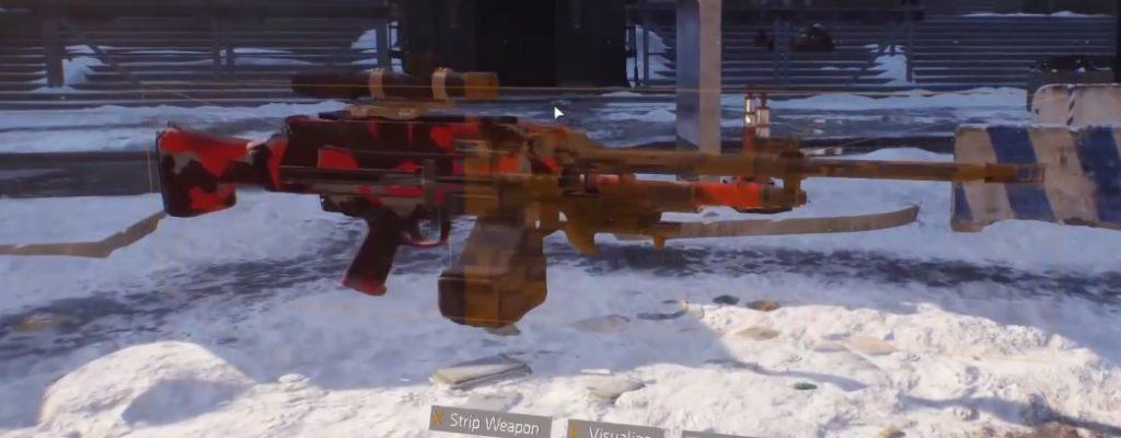 """The Division: Neue OP-Waffe aus """"Survival"""" versehentlich released – Das MG5-LMG"""