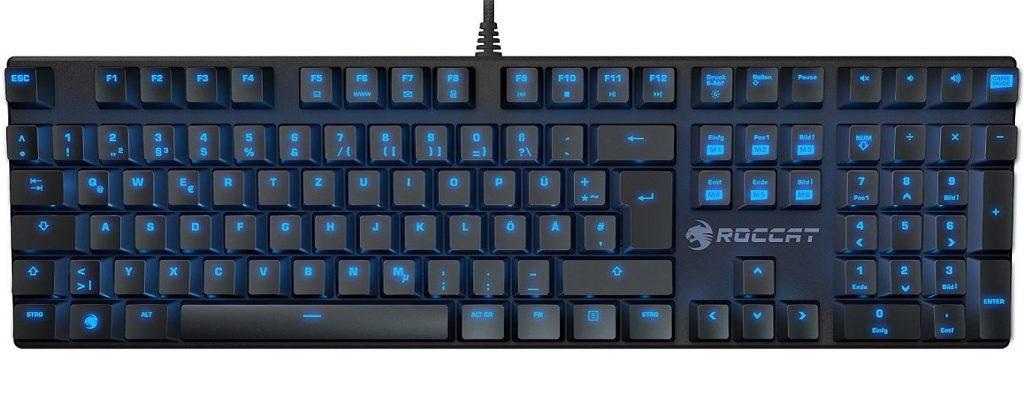 Angebote bei Amazon am 13. Oktober: Roccat Suora mechanische Tastatur + Gratis-Gamer-Maus