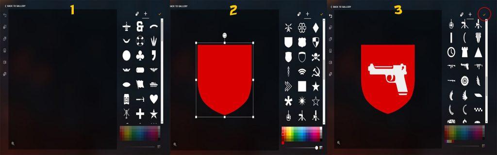 Battlefield 1 Emblem Editor Webseite