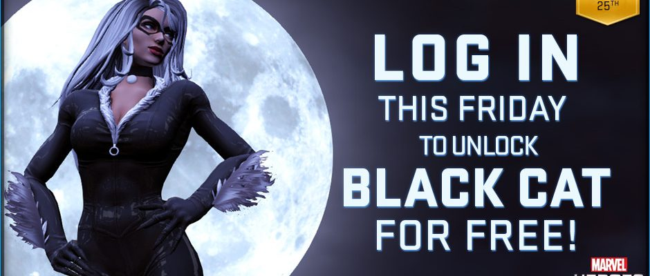 Marvel Heroes: Black Cat zum Black Friday – Black Panther wär wohl zu heikel