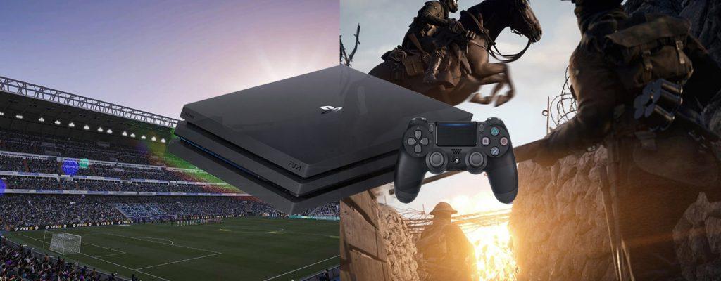 FIFA 17 und Battlefield 1: Hier lohnt sich die PS4 Pro richtig
