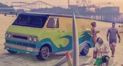 GTA 5 Online Van