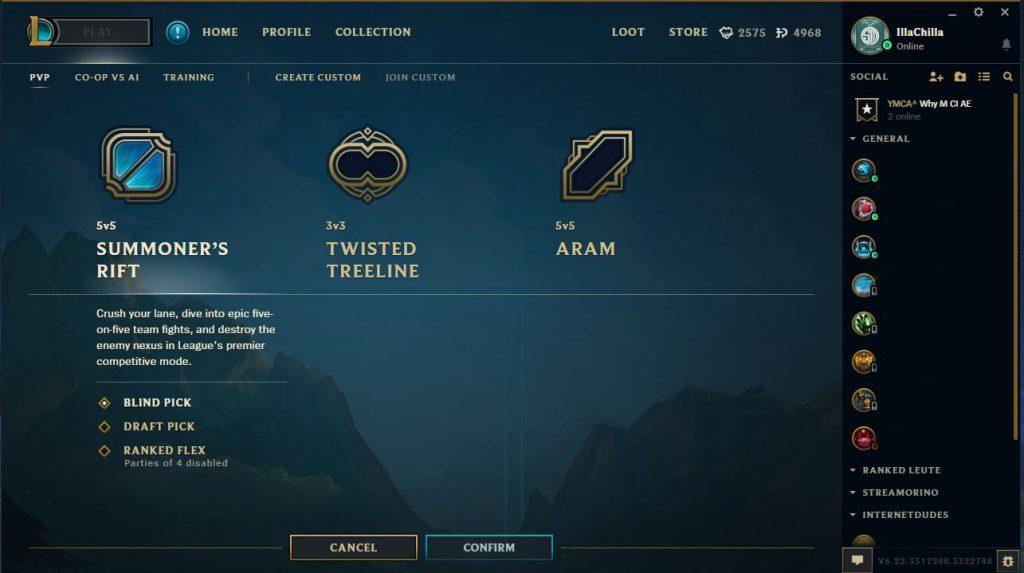 League of Legends Beta Client Spielen