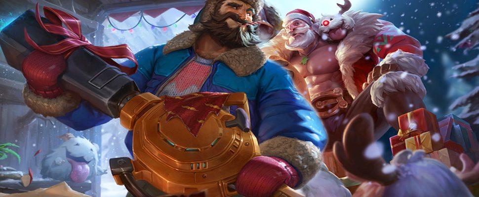League Of Legends Winter Skins Für Graves Braum Und Karma In Lol