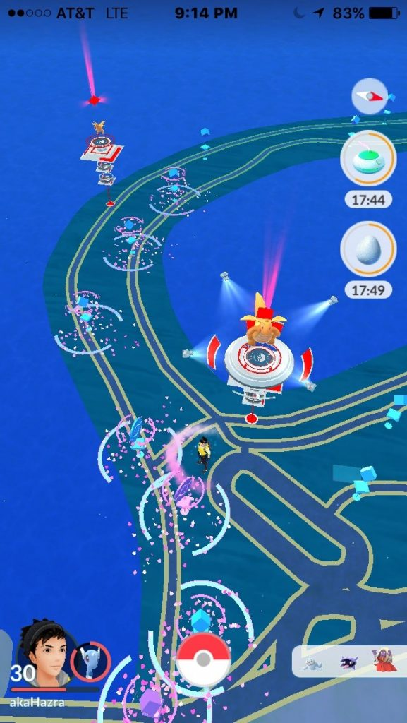 Pokemon GO PokéStops Lockmodul