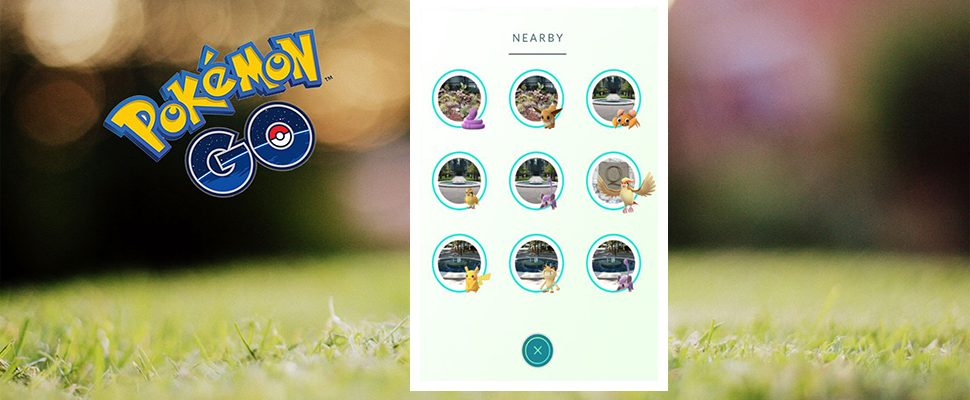Pokémon GO: Tracker-Update – Nearby-Änderungen während der Testphase