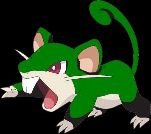 Pokémon GO Rattfratz Grün