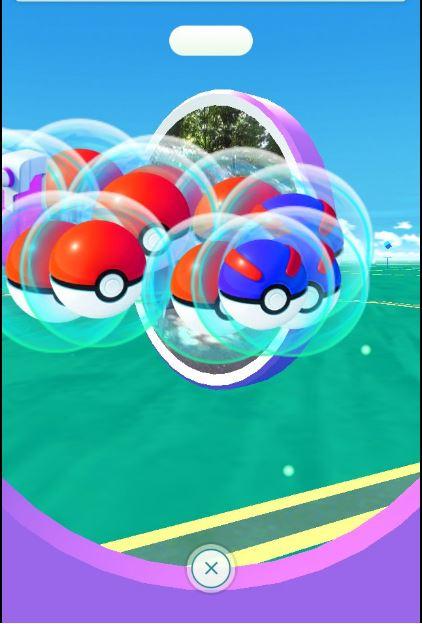 Pokemon GO PokéStop Gegenstände PokéBälle