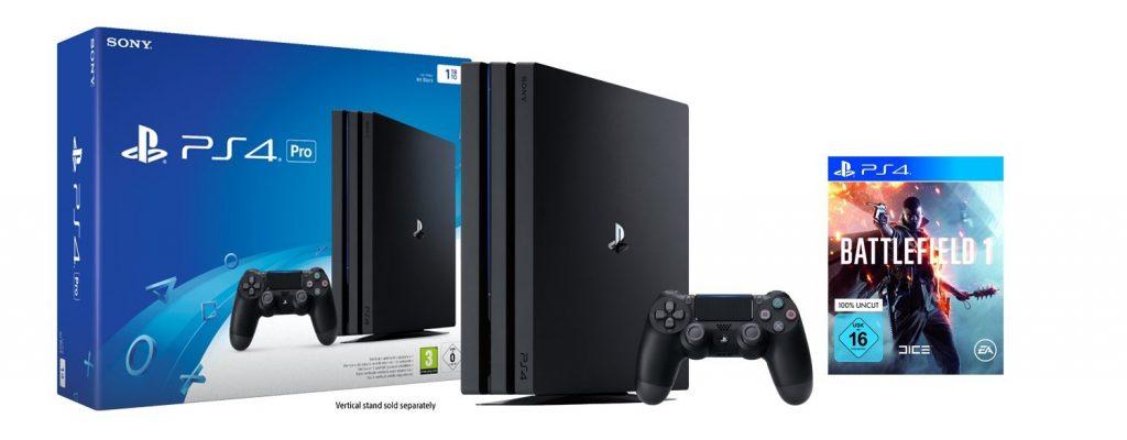 Black Friday bei Amazon: Playstation 4 Pro Bundles mit Battlefield 1, FIFA 17 und Co!