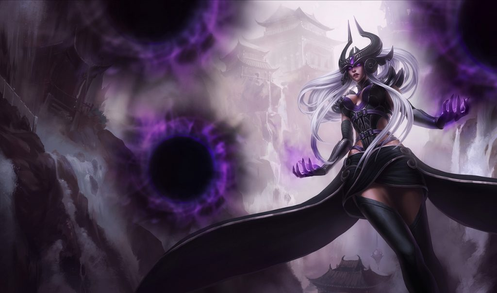 League of legends Syndra Magier