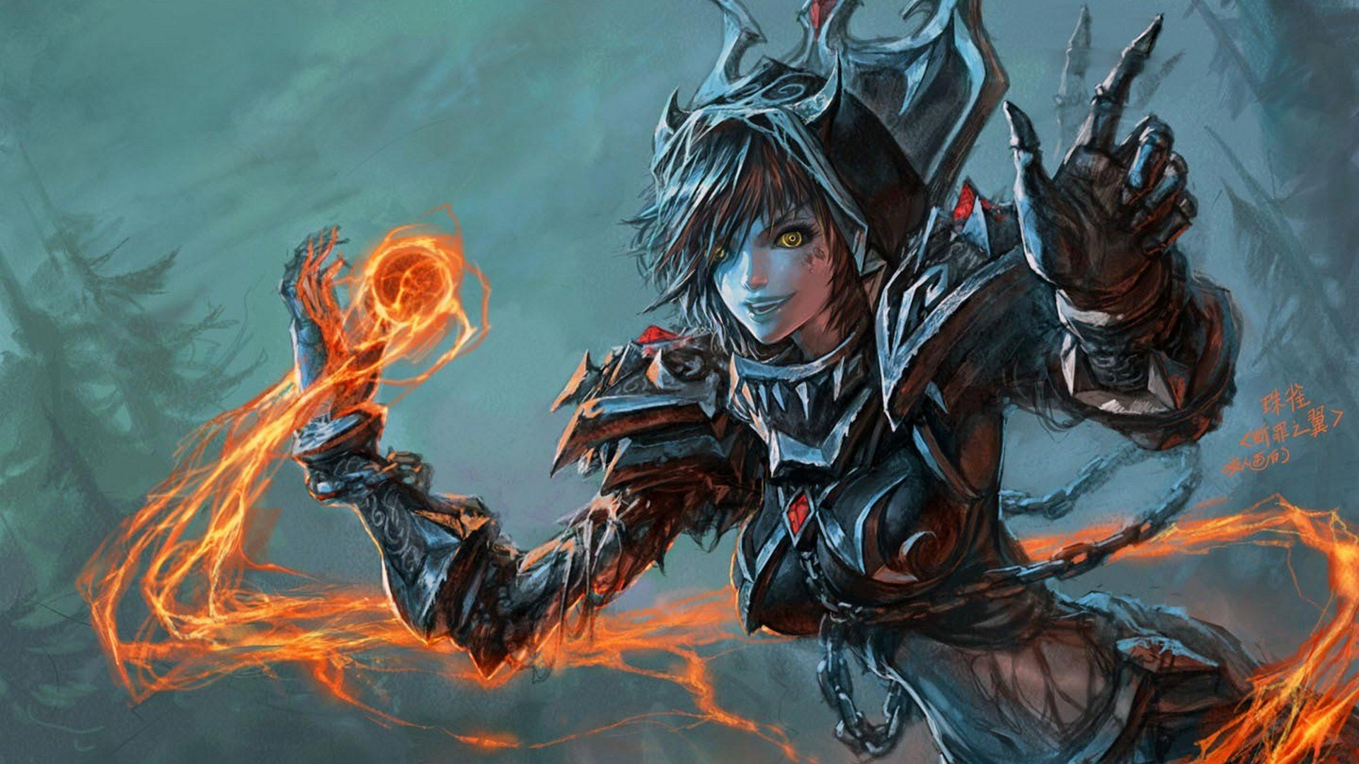 wow-artwork-warlock-female