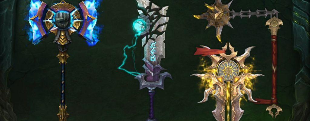 WoW: Legion – Alle neuen Artefaktwaffen-Designs in 7.2