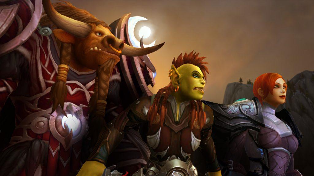 wow tauren orc human legion