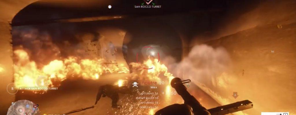 Battlefield 1: Brandheiß – So räumt man einen Bunker auf!