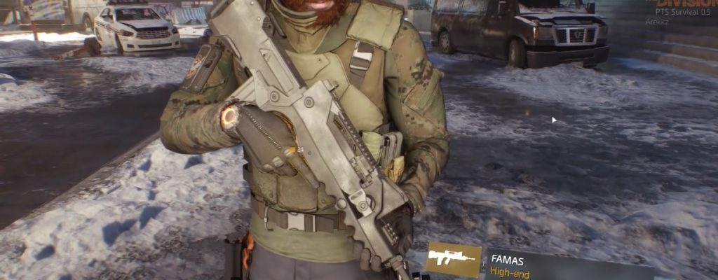 The Division: FAMAS – Was taugt das schnellfeuernde Sturmgewehr aus 1.5?