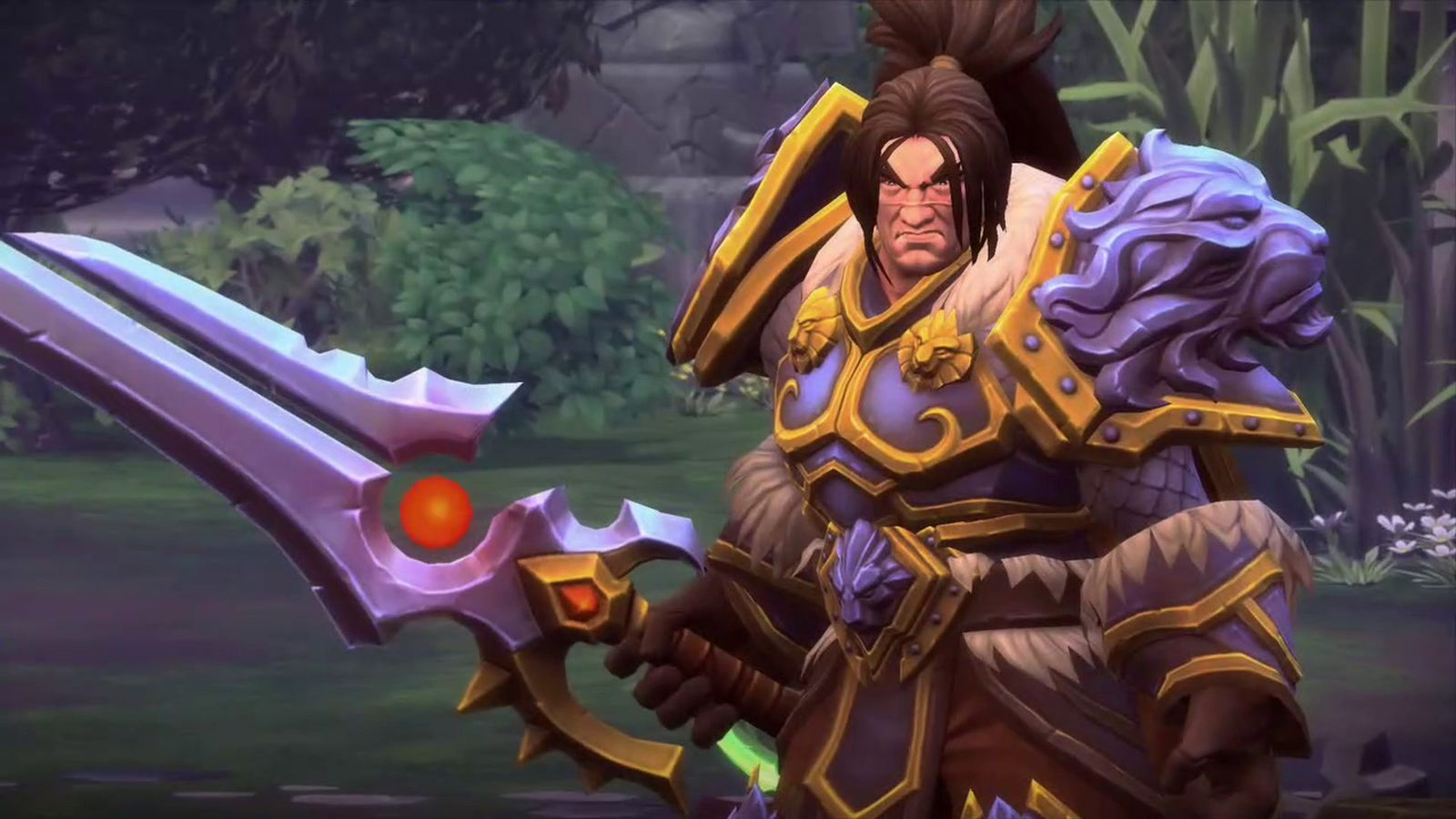 heroes of the storm varian wrynn screenshot