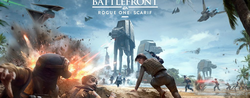 Star Wars: Battlefront – Trailer zum DLC Rogue One: Scarif lässt es krachen!