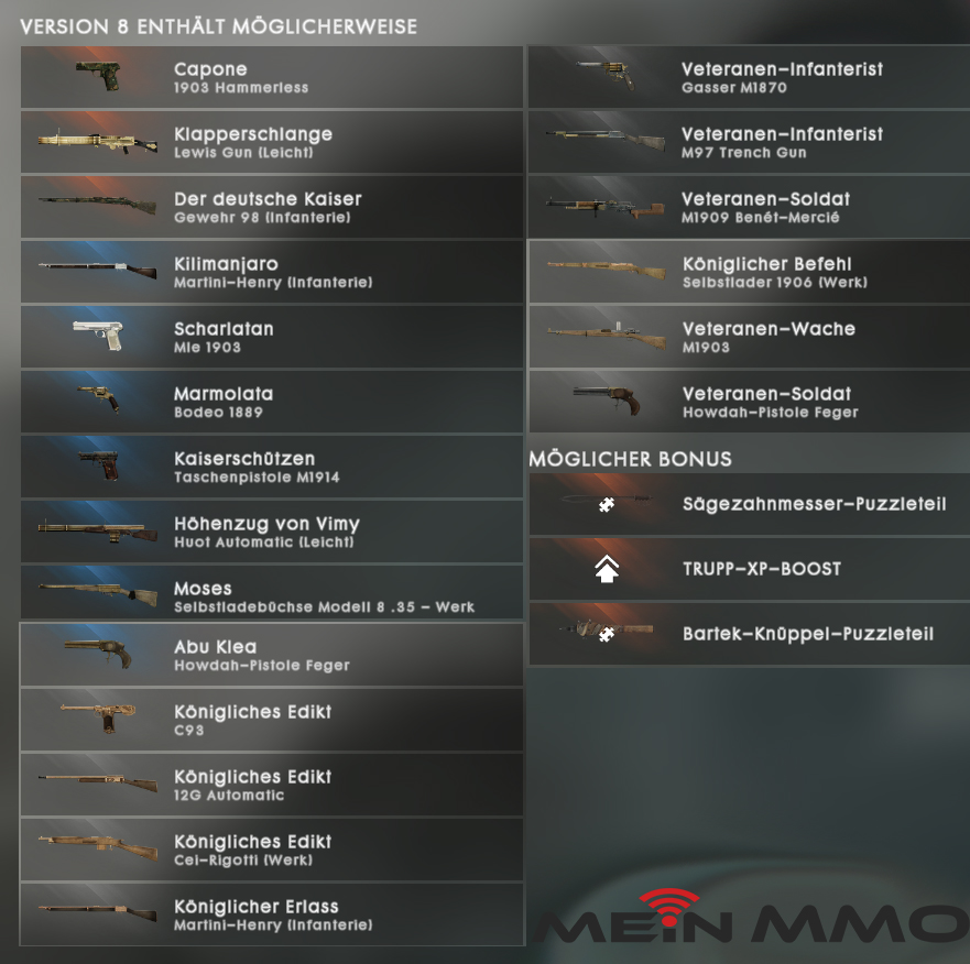 BF 1 Battlepack Revision 8