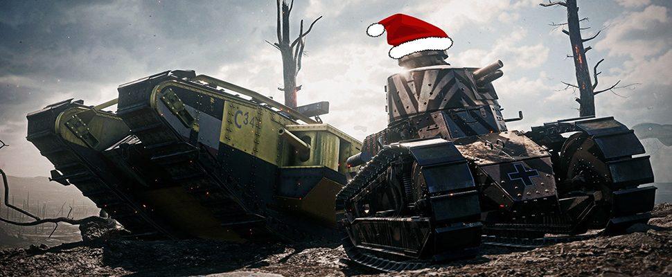 Battlefield 1: Weihnachts-Event jetzt aktiv – Gratis Battlepacks warten auf Euch