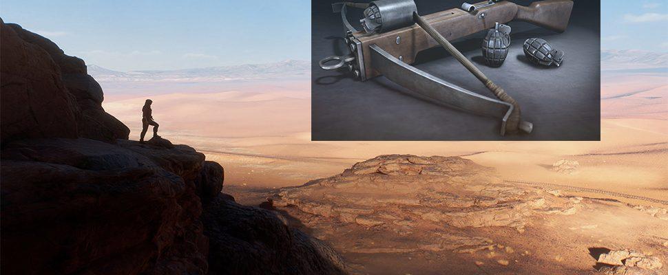 Battlefield 1: Armbrust-Granatwerfer geleakt? Mögliche DLC-Waffe