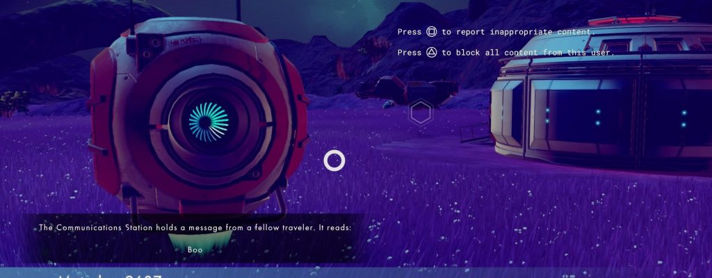 "No Man's Sky: Ein Quantum Multiplayer – Interstellare SMS sagt ""Buh"""