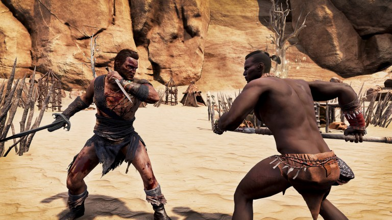 conan exiles fight