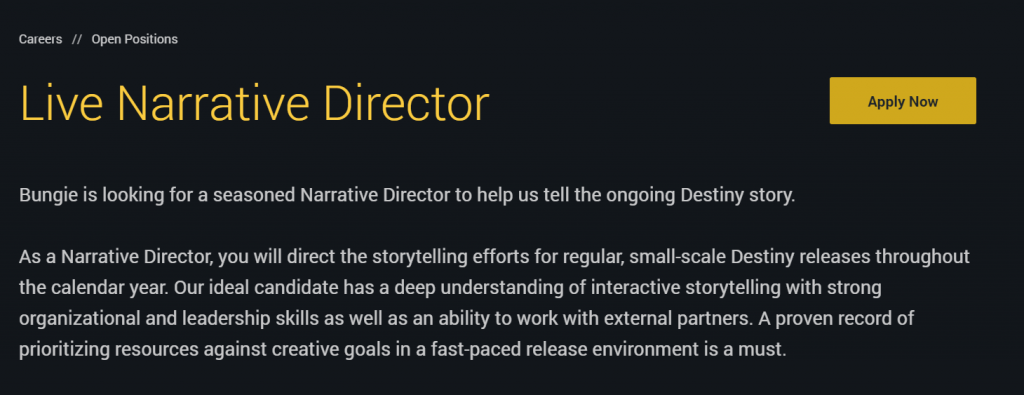 director-bungie