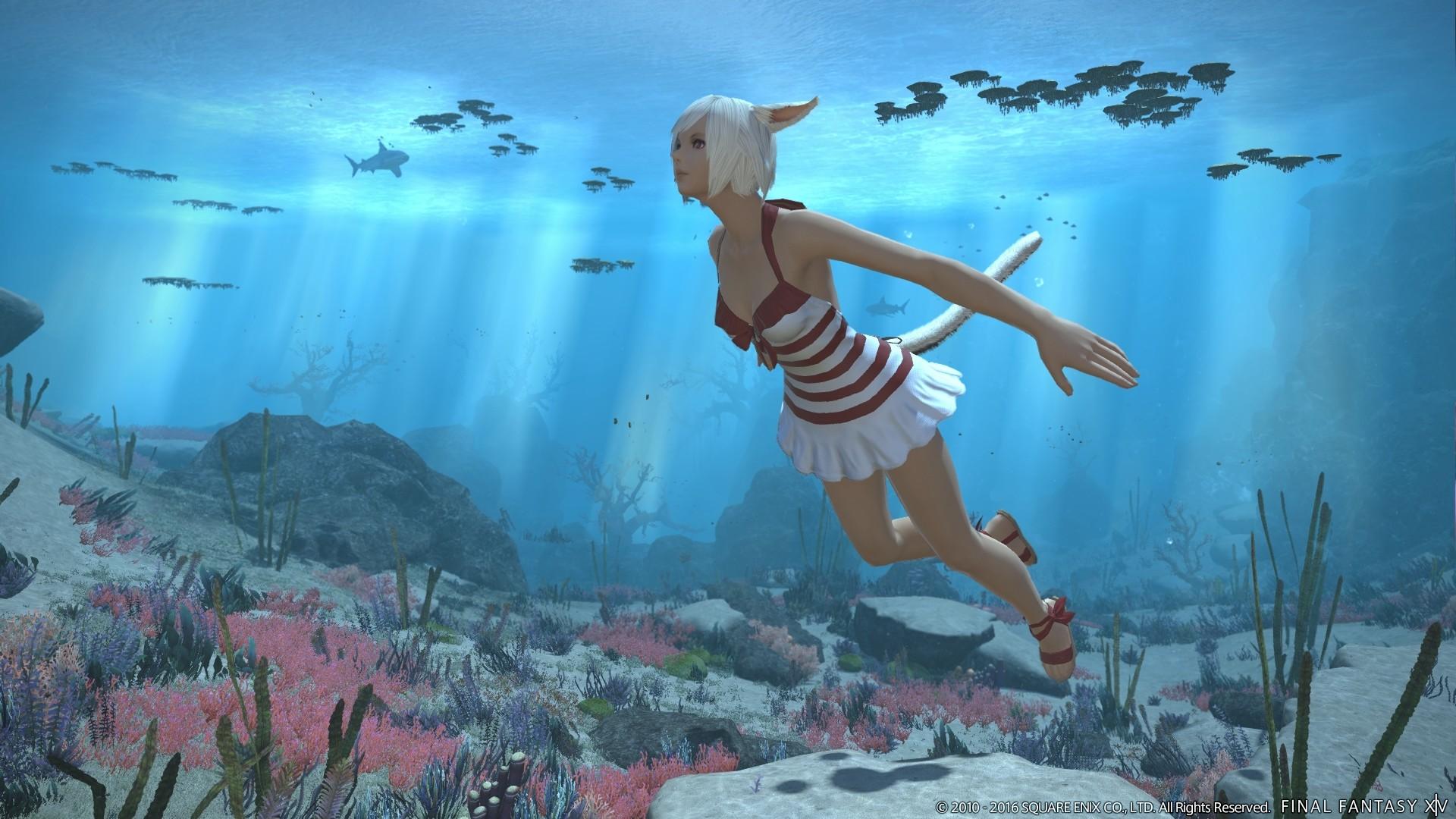 ff14 schwimmen