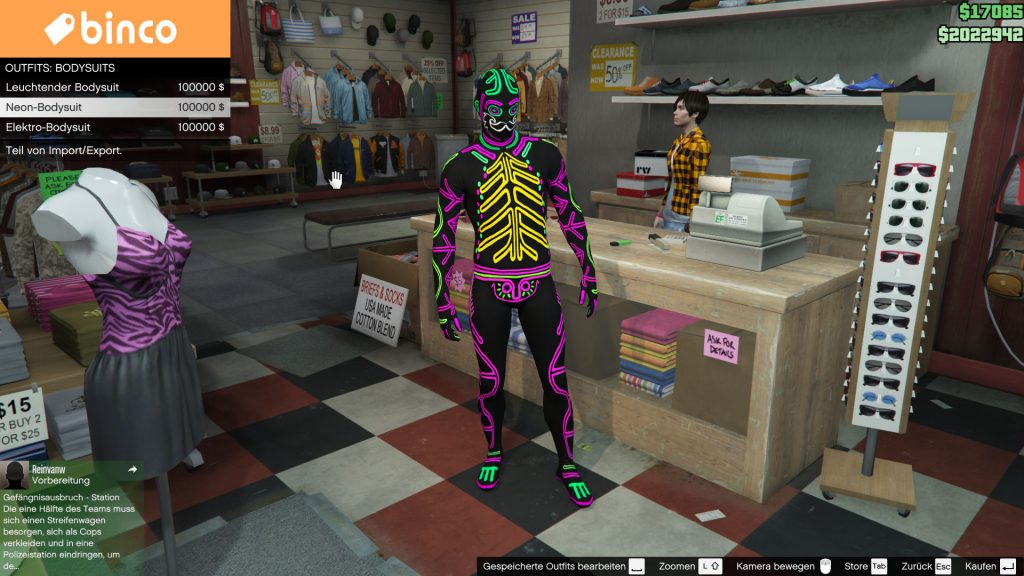 GTA 5 Online Bodysuit