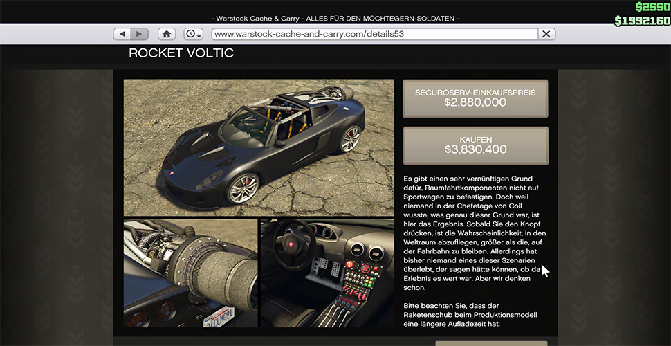 GTA 5 Online Rocket Voltic