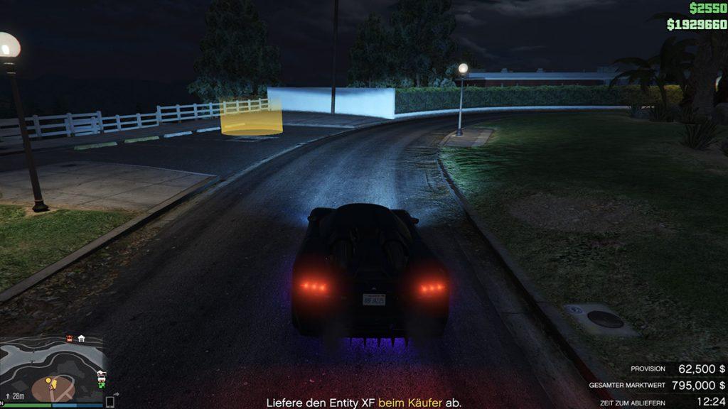 GTA 5 Online Wagen abliefern