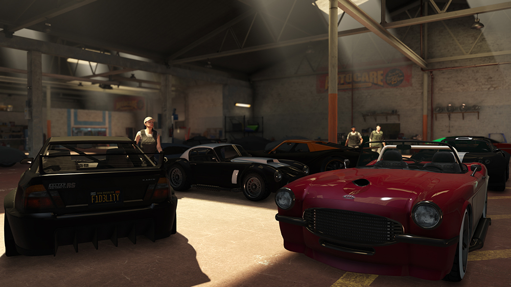GTA 5 Online Garage Import Export