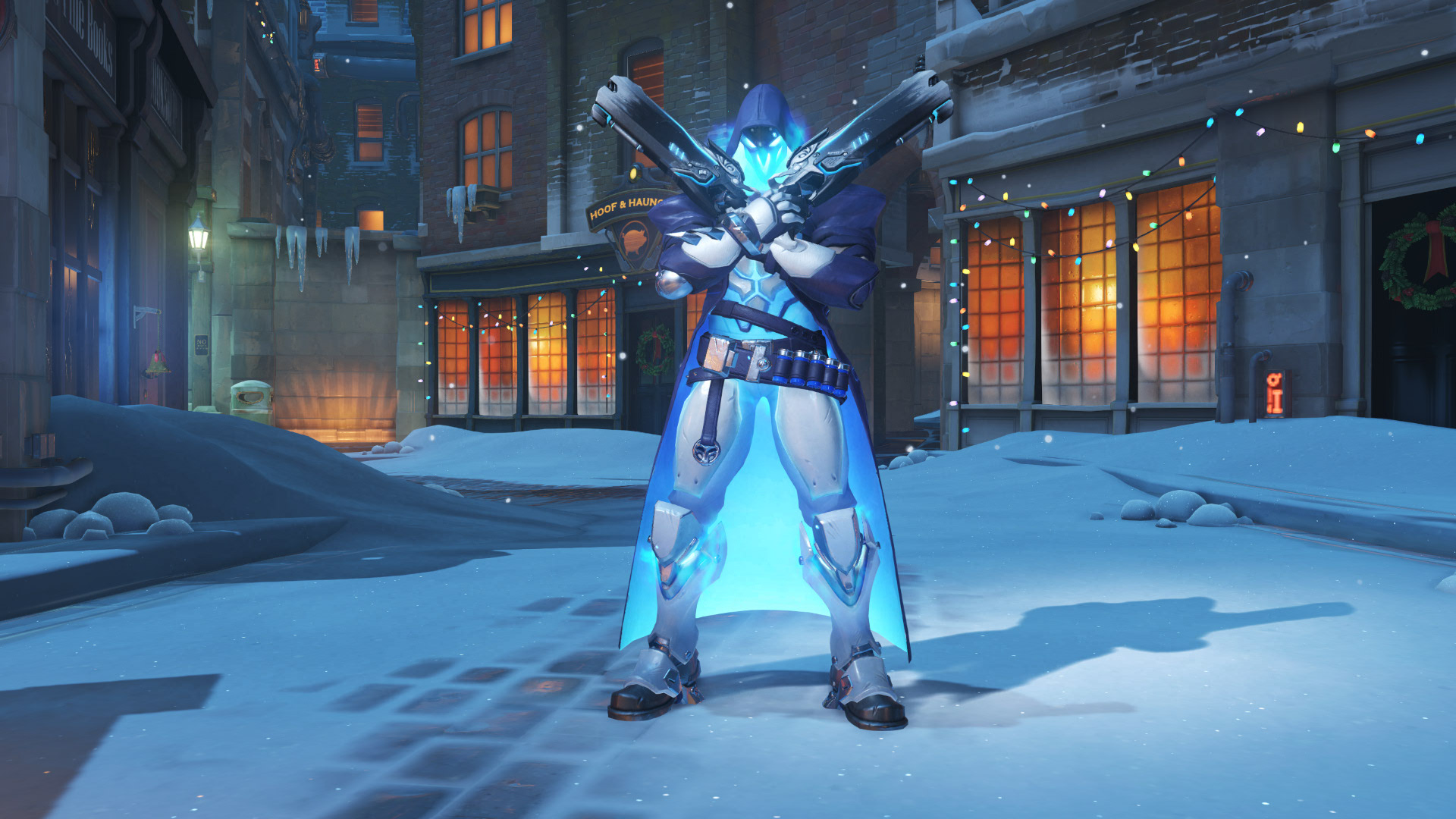 overwatch skin christmas epic reaper shiver