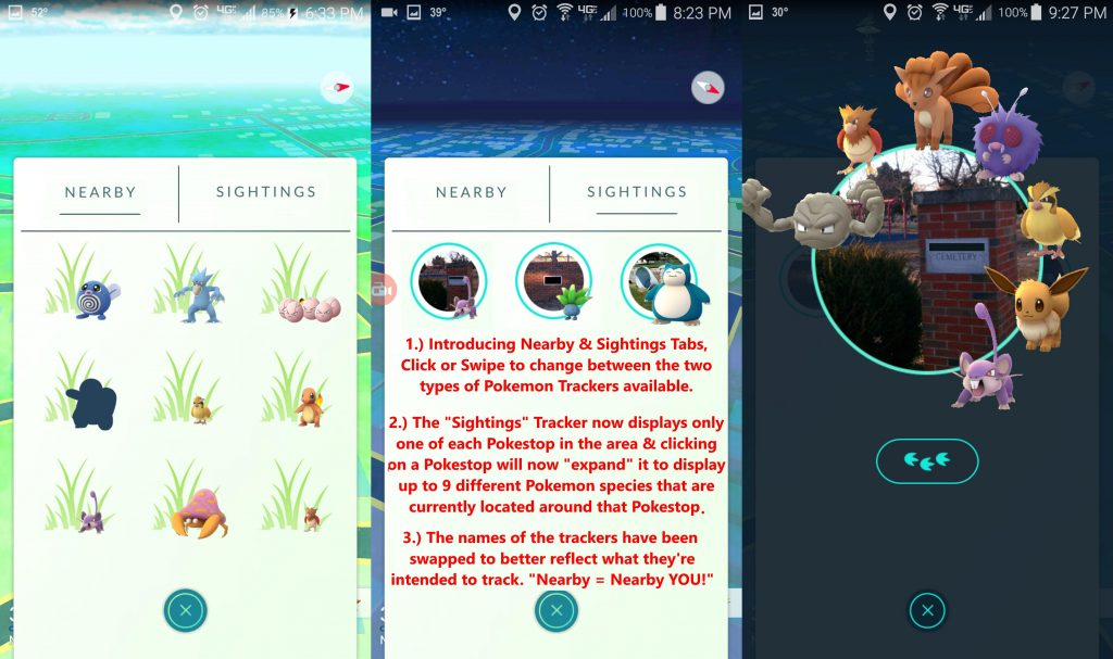 Pokémon GO Tracker Fan