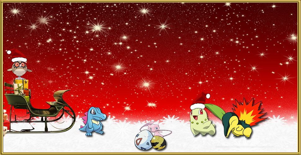 Pokémon GO Christmas 2. Generation